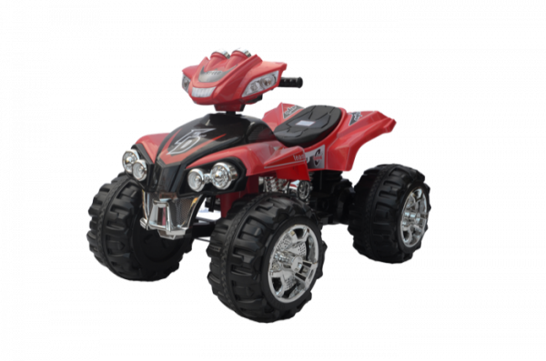 KA401 - Kidz Auto Quad - Red - Profile copy